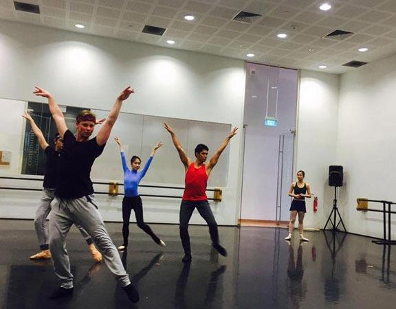 Ballet Class Fortgeschrittene