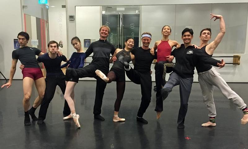 Singapor-Dance-Theatre und Kirichenko